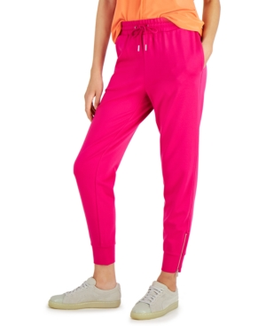 Tailored Pull-On Jogger Pants