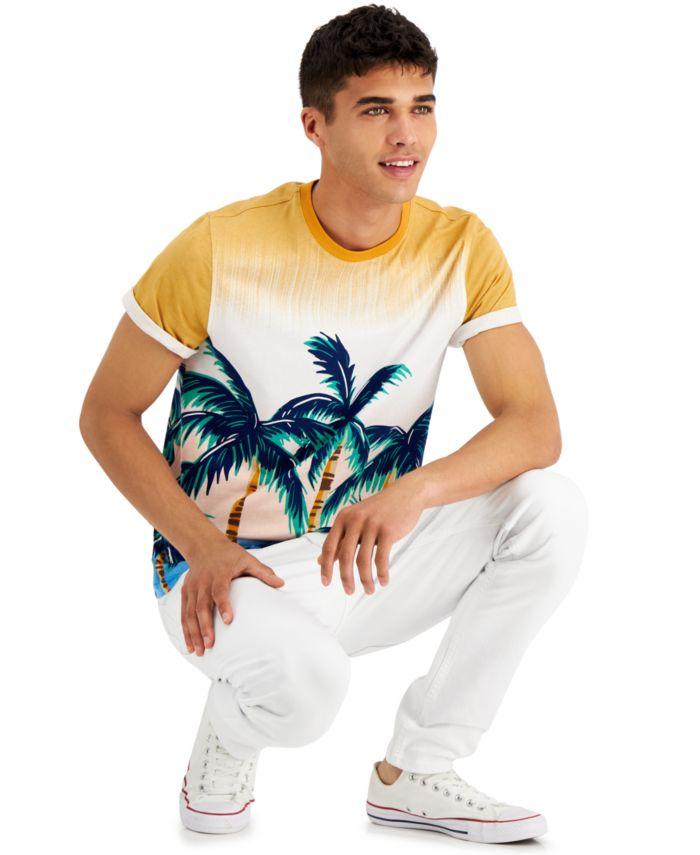 INC International Concepts INC Men's Paradise T-Shirt, Created for Macy's  & Reviews - T-Shirts - Men - Macy's