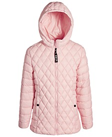 Big Girls Engineered Quilted Packable Jacket
