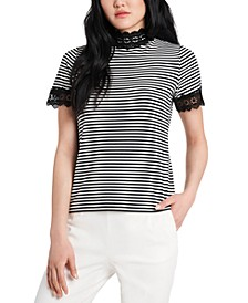 Chloe Striped Top, Created for Macy's