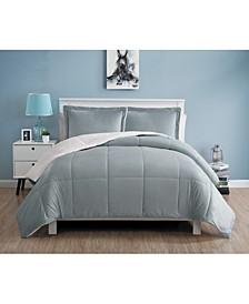 Micromink Sherpa Comforter Set, Queen