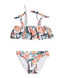 Big Girls Love Is Big Flutter Bikini Set