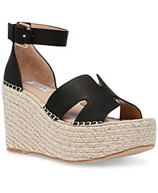 Women's Jackal Platform Wedge Espadrille Sandals