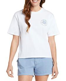 Juniors' Logo Tomboy T-Shirt