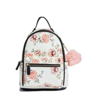 Vintage Rose Vegan Leather Backpack