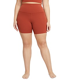 Plus Size Women's Yoga Luxe Shorts
