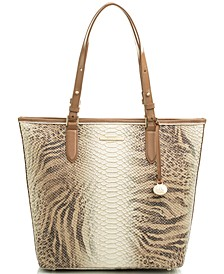 Asher Delancey Embossed Leather Tote