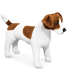 Melissa and Doug Kids' Plush Jack Russell Terrier Stuffed Toy