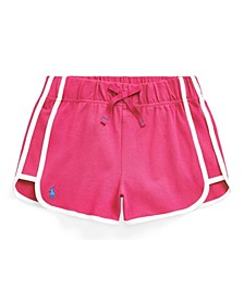 Toddler Girls Stretch Mesh Pull-on Short