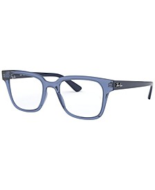 RX4323V Unisex Square Eyeglasses