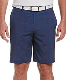 Men's Glen Plaid Golf Shorts