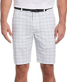 Men's Textured Printed Shorts