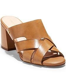 Women's Jodie Block-Heel Mule Sandals
