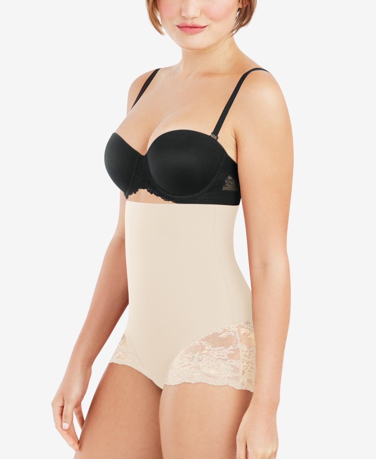 Maidenform Women's Tame Your Tummy High Waist Lace Brief DMS704
