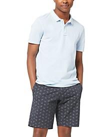 Men's Regular-Fit Garment-Dyed Piqué Polo Shirt