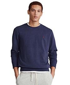 Men's Big & Tall Cotton-Blend Sweatshirt