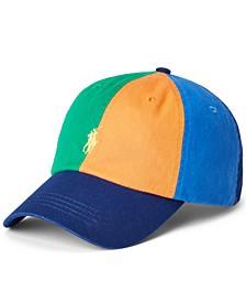 Men's Colorblocked Chino Ball Cap