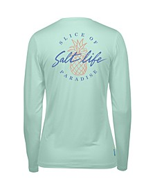 Women's Slice of Paradise Long Sleeve Performance T-shirt