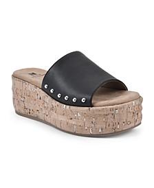 Diligent Women's Platform Slide Sandals
