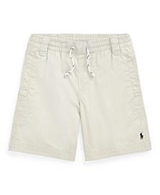 Little Boys Twill Shorts