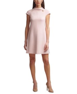 Harper Rose Dresses ROLL-NECK A-LINE DRESS