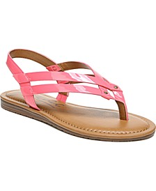 Yasmin Woven Flat Sandals