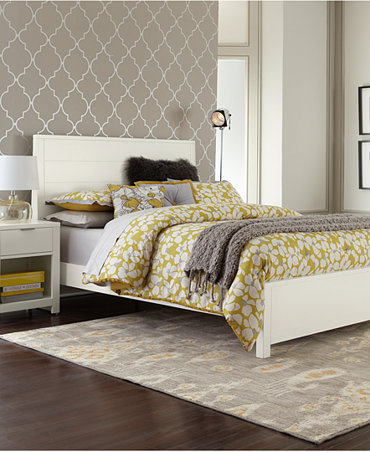Tribeca white bedroom furniture collection furniture - Bedroom furniture set online shopping ...