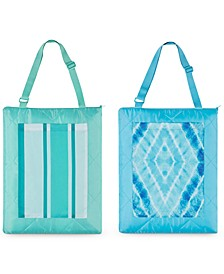 CLOSEOUT! Quilted Convertible Beach Blankets, Created for Macy's