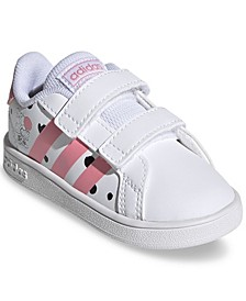 Essentials Toddler Girls Minnie Mouse Grand Court Stay-Put Casual Sneakers from Finish Line