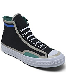 Men's Chuck Taylor All Star Digital Terrain Ripstop High Top Casual Sneakers from Finish Line