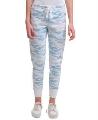 Camo-Print Jogging Pants