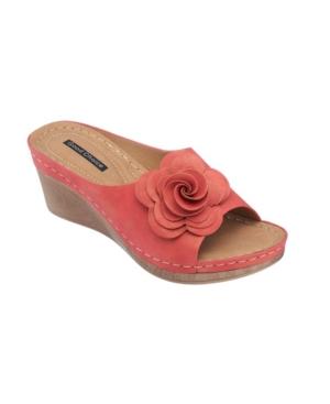Tokyo Floral Wedge Sandal Women's Shoes