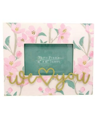 Frame with Metal Wording, 8x10 insert 4x6