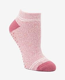 Women's Lounge Sock with Gripper Bottom