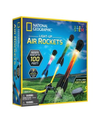 National Geographic Light Up Air Rockets