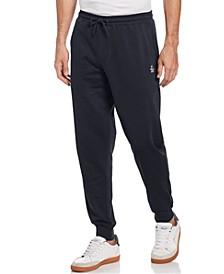 Men's Slim-Fit Solid Fleece Joggers