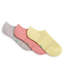 Women's 3-Pk. Eco Sport Cushion No-Show Socks