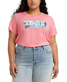 Trendy Plus Size Logo Perfect T-Shirt
