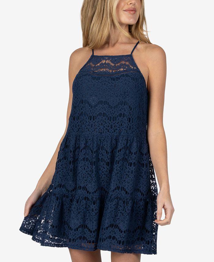Speechless - Lace Shift Dress