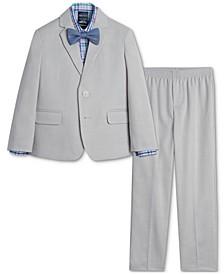 Baby Boys Bold Dobby Suit Set