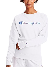 Women's Powerblend Fleece Logo Sweatshirt