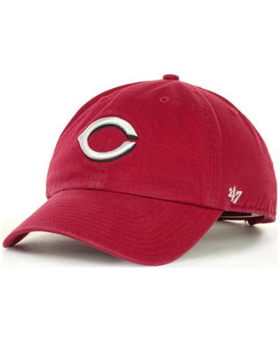 '47 Brand Cincinnati Reds Clean Up Hat