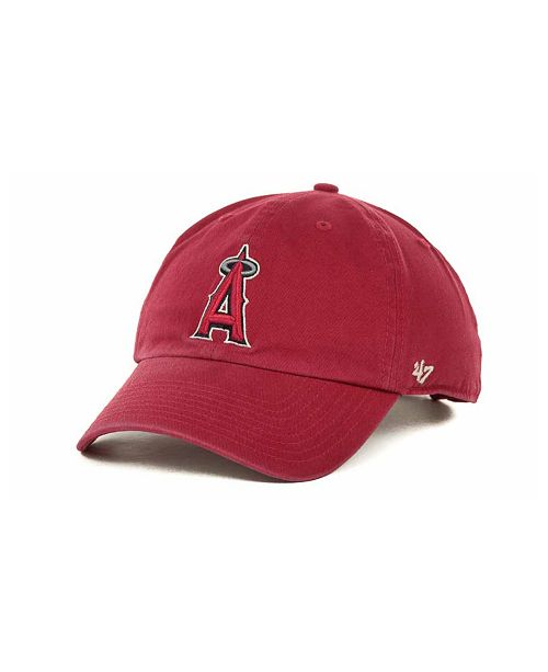 online store ad623 b1dc4 ...  47 Brand Los Angeles Angels of Anaheim Clean Up Hat    ...