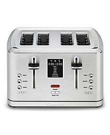 4-Slice Digital Toaster with MemorySet Feature