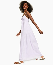 Cross-Back Maxi Dress, Created for Macy's