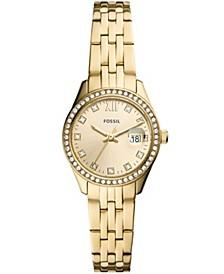 Women's Micro Scarlette Gold-Tone Bracelet Watch 28mm