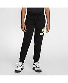 Big Boys Club Fleece Extended Size Sportswear Pants