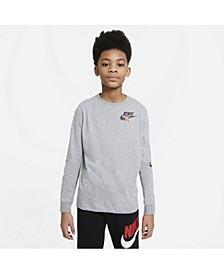 Sportswear Big Boys Long-Sleeve T-shirt