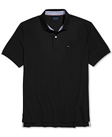 Men's Classic-Fit Ivy Polo Shirt with Magnetic Closures
