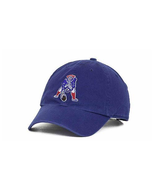 47 Brand New England Patriots Clean Up Cap - Sports Fan Shop By Lids ... 24d7ea2077f